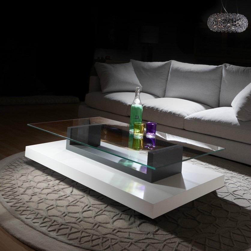 Mesa de centro lc 12 - Mesas cristal salon ...