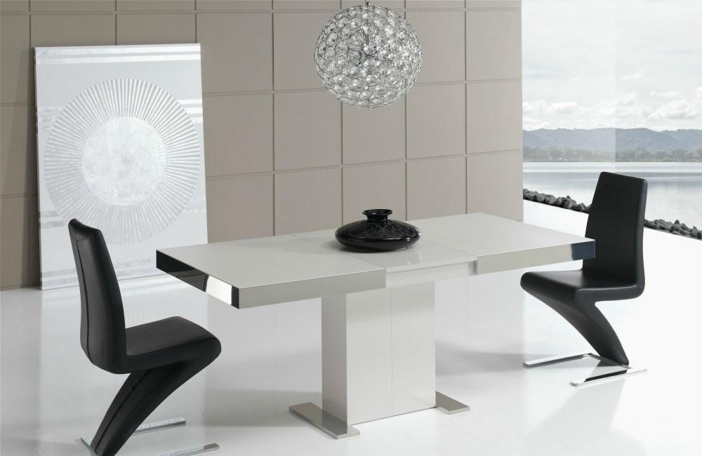 Mesa de comedor extensible in tempo - Mesa auxiliar extensible ...