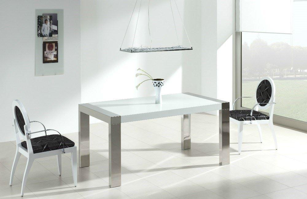 Mesa de comedor hydra cristal - Mesa de comedor cristal ...