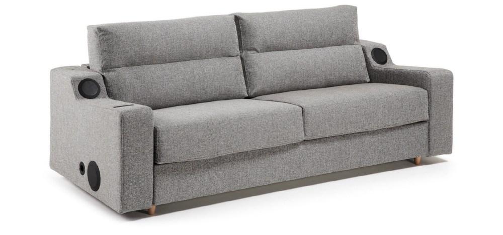 Sof cama tapizado en tela de alta calidad efficiency for Sofas alta calidad