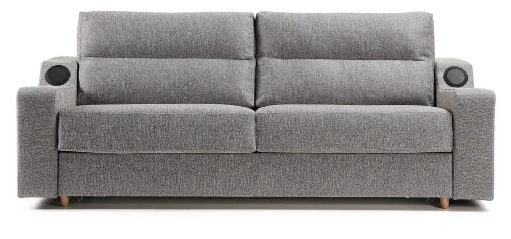Sof cama tapizado en tela de alta calidad efficiency for Estructura sofa cama