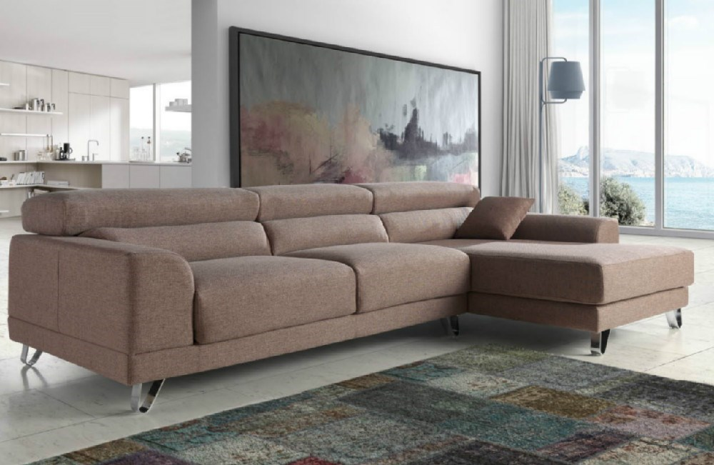 sofa chaiselongue river en diferentes medidas y telas a elegir. Black Bedroom Furniture Sets. Home Design Ideas