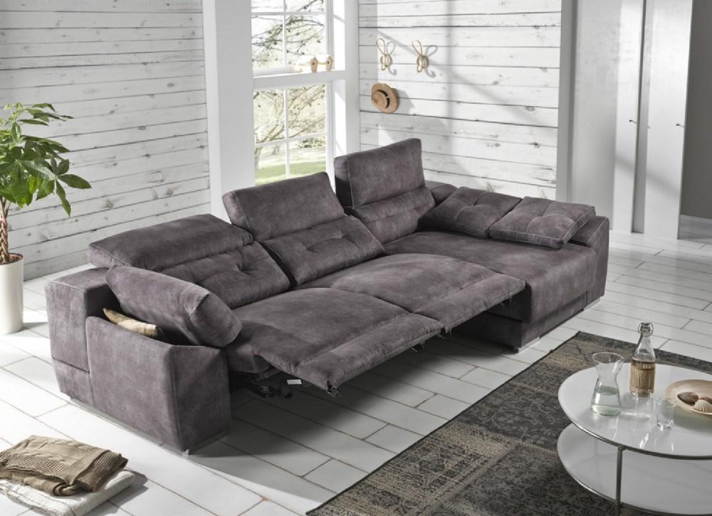 Sofa chaiselongue donosti en diferentes medidas y telas a elegir - Sofa 4 plazas chaise longue ...