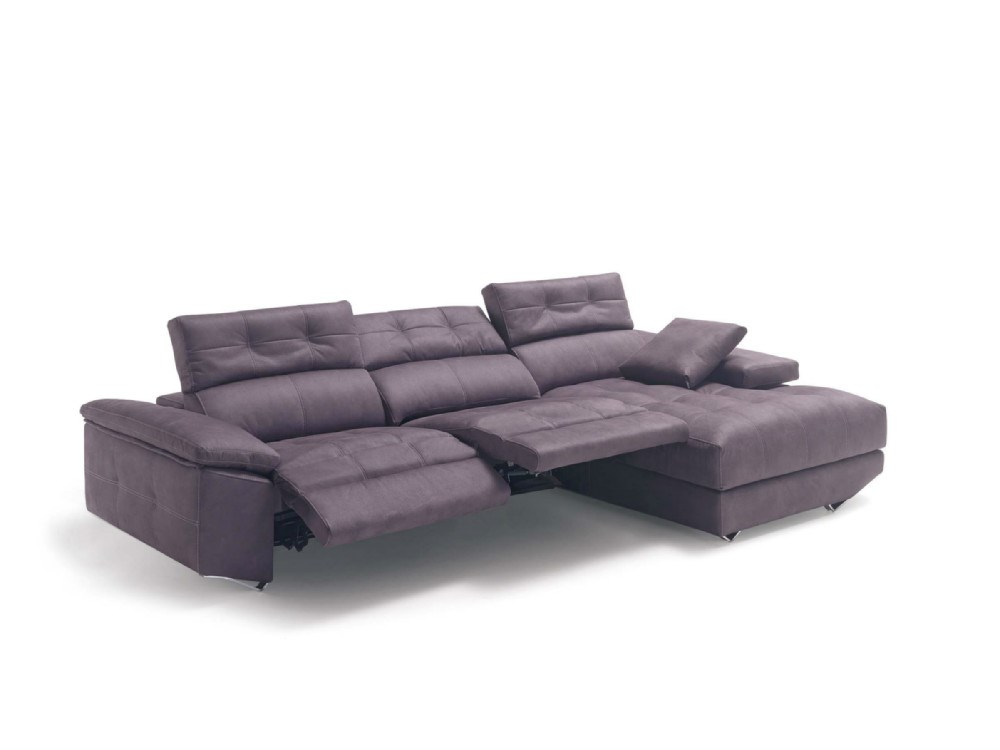 1 awesome sofa chaise longue relax electrico sectional sofas - Sofas chaise longue medidas ...