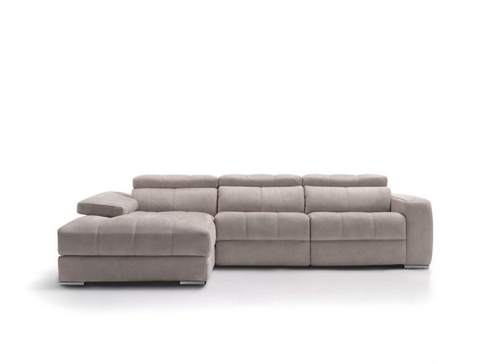 Sofa relax chaiselongue elegant en diferentes medidas y telas a elegir - Sofas de tela ...