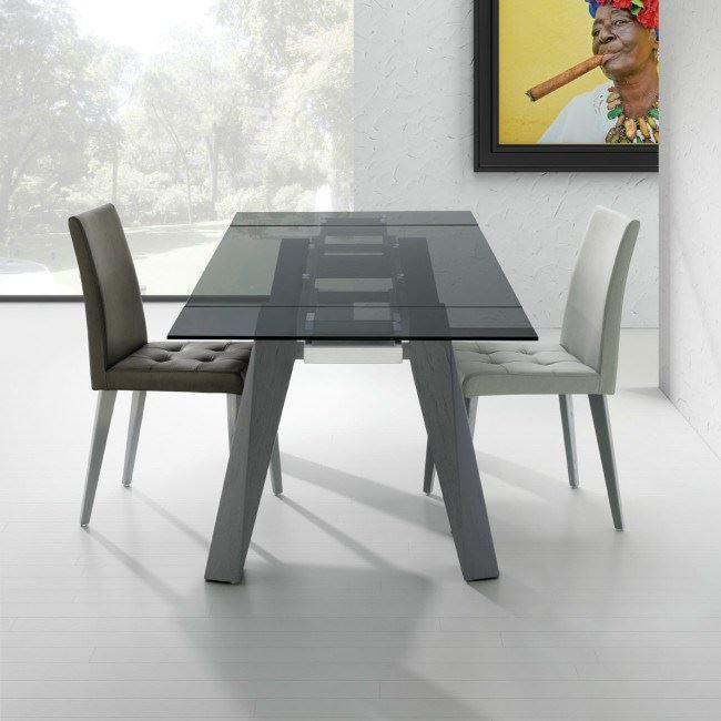 Mesa sumatra madera - Mesas de comedor de madera extensibles ...