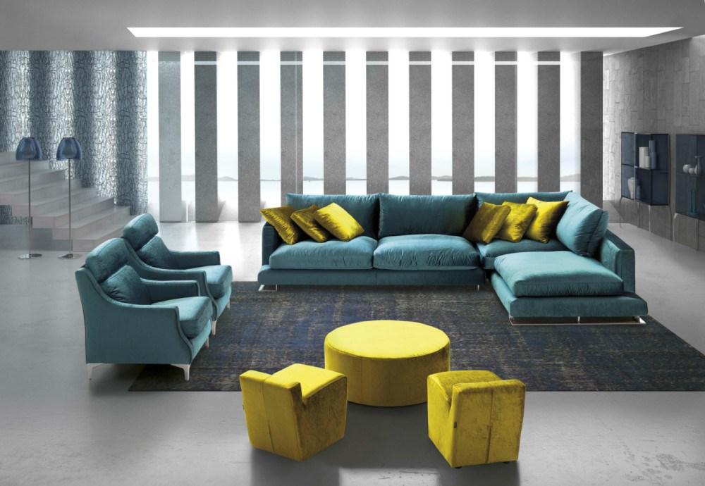 Sofa Chaiselongue Chanel en diferentes medidas y telas a elegir