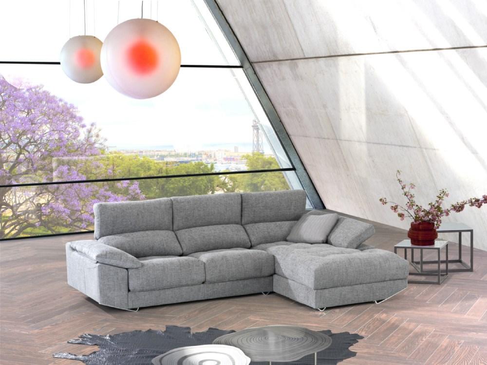 Sofa Chaiselongue Zeus en diferentes medidas y telas a elegir